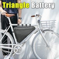 Wholesale Battery Charger 6a - 52V Electric Bicycle battery Triangle Battery 52V 10AH 20AH Lithium Battery with BMS and 58.8V 6A Fast Charger ebike Triangle