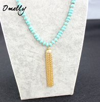 Wholesale Sweater Chain Necklaces Cheap - Fashion Charm Beads Tassels Necklace Long Chain Sweater Necklace Jewelry for Women Lady Wholesale Jewelry in Bulk Cheap