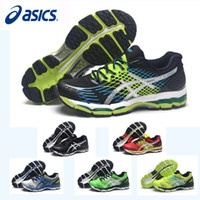 Wholesale Nude Color Shoes Flats - New Color Asics Nimbus17 Professional Running Shoes For Men Shoes, Breathable Discount Sneakers Sports Shoes Free Shipping Eur 36-45