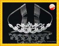 Wholesale Prices Pearl Jewelry Sets - Wedding Bridal Sets Jewelry Set Jewerly Pearls Cheap Price Sparked Bling Rhinestone Beautiful Fashion In US Hot Sales Wonderful