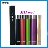 Wholesale M11 Ego - M11 Mod Battery use 14650 battery Colorful Mechanical M11 Mod Battery for eGo 510 Thread Atomizer