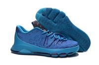 Wholesale kd high cut shoe resale online - 2016 Hot sale Newest sneaker kd Basketball Shoes Men Sports Shoes High Quality Men s Basketball Sports Shoes size