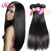 Wholesale Straight Brazilian Hair One Bundle - xblhair loose wave human hair extensions 3pcs bundles human hair brazilian straight and body wave within one link