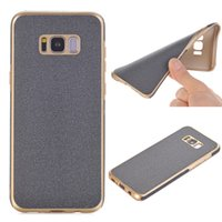 Wholesale Phone Cloth Case - Jeans Cloth Leather Coated TPU Phone Case For Iphone 7 6s 6 Plus Simple Soft shell And Slim back cover Samsung Galaxy S8 Plus Huawei mate 9