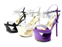 Wholesale Kvoll Shoes Sandals - Kvoll authentic aristocratic temperament diamond wrist strap hanging high with waterproof shoes hollow out fine with satin sandals
