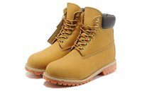 Wholesale Cheap Winter Ankle Boots - Cheap Luxury Brand Designer Men 6-Inch 10061 Premium Ankle Boots Winter Work Waterproof Outdoor Wheat Nubuck Boots