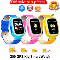 GPS Q90 Smartwatch Touchscreen WIFI Positionierung Kinder Smart Armbanduhr SOS Call Location Locator Smart-Uhren für Android-Handys
