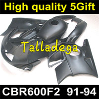Wholesale 1994 Honda Cbr Kit - Plastic Body Fairing Kit For HONDA CBR600F2 CBR600 CBR 600 600F2 F2 1991 1992 1993 1994 91 92 93 94 Body Fairing Set Matte Black