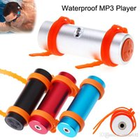 Wholesale mp3 player earphone ipx8 resale online - Built in GB GB IPX8 Waterproof MP3 Player Swimming Diving Stereo Earphones Sports Underwater FM Radio Headphones USB Charg Armbrand Music