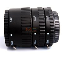 Wholesale Tube Extensions For Cameras - Meike MK-S-AF-B ABS Auto Focus AF Macro Extension Tube Set for Sony Camera