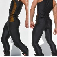 Wholesale Thin Tights - Wholesale- new Rufskin Mens Untra Thin Fabric Sports Runner Running Tights Pants Aqux Gym Bike