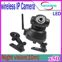 Wholesale Wifi Camera Ftp - Wireless Wifi Mini IP Camera CCTV PT Video Camera Security Motion Detection Alarm FTP Night Vision 50 pcs ZY-SX-01