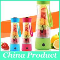 Plastic CE / EU Eco-Friendly New mini juicer Mini electronic Juicer Portable Juicer Blender mini juicers hotsell Portable juice extractor with phone charger 010267