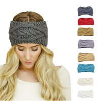 Wholesale Womens Winter Fashion Headbands - New 2016 Womens Winter Warm Knitted Empty Skull Hats wool Skiing Cap Knitted Empty Skull Beanie Headband Fashion Skullies DHL free shipping