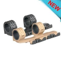 Tactical Double Ring Rifle Scopes Mount 30mm / 35mm QD Mount se encaixa 21mm rail for hunting
