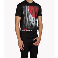 "Wholesale T Shirt Washing - DSQ D2 Brand New Arrival 2017 Summer Men's T-shirt Fashion Short Sleeve ""Into The Woods T-Shirt"" Printing Fashion T shirt Men's Tops Tees"