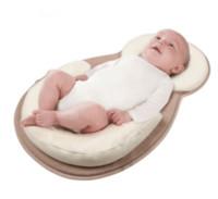 almohada migraña al por mayor-JJOVCE Almohadilla neonatal almohada de posicionamiento del sueño del bebé estereotipos anti migraña almohada almohada