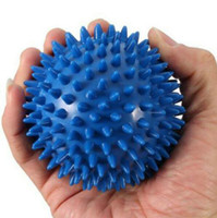Wholesale foot massager online - Body Massager Spiky Point Massage Ball Roller Reflexology Stress Relief for Palm Foot Arm Neck Back Body Health Care Tool