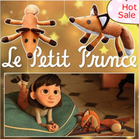 Wholesale Doll Princes - Little Prince Fox Plush Dolls le Petit Prince stuffed animal plush education toys for baby kids Birthday Xmas Gift