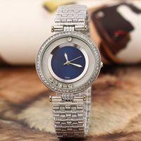 Wholesale Girls Dresses C - Free Shipping 2017 Dress lady Rolling Diamonds luxury watches women watch clock Top Brand C P quartz Wristwatch for women girl rejoles clock