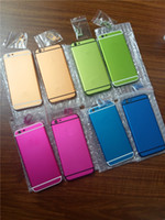 Wholesale complete housing - 100% Genuine High Quality Housing Back Battery Door Cover Complete Assembly For iPhone 6 6G 6S Free shipping