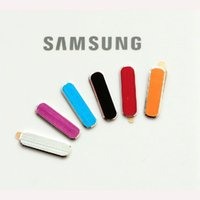 Wholesale Galaxy Note Button Sticker - Wholesale-HIGH quality !!! 10 PCS 6 COLOR Metal Aluminum Home Button Sticker for Samsung Galaxy S3  S4 SIV S IV I9500 NOTE 2 3