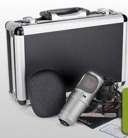 hochwertiges kondensatormikrofon großhandel-AIBIERTE Hohe Qualität Klang Takstar SM-7B-M Kondensator Studio Mikrofon Rundfunk Und Aufnahme Mikrofon Mic Kein Audio Kabel HEIßER