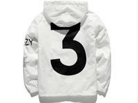 Wholesale y jacket - 2018 Men women Jacket kanye yeezus Hip Hop Y 3 Windbreaker TOUR 3 Jackets Men Streetwear Outerwear hoodies