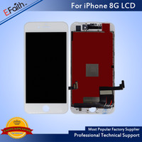 Wholesale Apple Iphone Phones - Grade A+++ Quality LCD For iPhone 8 LCD Display Touch Digitizer Assembly Repair Replacement For Phone 8 with Tools & Free DHL Shipping