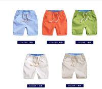 Wholesale Haroun Pants - Boy's cotton and linen haroun pants, shorts hot pants 2016 children summer han edition of the new children's clothing baby pants