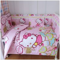 Wholesale Cheap Bumper Sets - Free Shipping 100% Cotton Baby Bedding Set Super Good Quality Baby Bed Bumper for Cheap Price Baby Crib Bedding Set