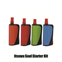 Wholesale Multi Connector Kit - 100% Original Itsuwa Soul Starter Kit 1000mAh Battery Magnet Connector Mod 0.5 1.0ml Amigo Liberty Cartridge Tank