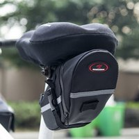 Wholesale Road Bike Bags - New Arrival Rainproof Mountain Road Bicycle Saddle Bag to Bike Tail Bag Reflective Stripe bycicle bag bolsa bicicleta