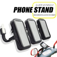 Wholesale Mobile Phone Motorcycle Stand Holder - Waterproof Case Stand Mount Motorcycle Bicycle Bike with Mobile Phone Bag for Samsung Android Apple iPhone Holder Bracket