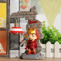 Wholesale Led Holiday Light Night - Grocery Resin Crafts Avenger Alliance Night Light Decoration Creative students hot