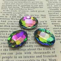 Wholesale Silver Nail Letter Art - More Colors U Choose,4x6mm 2000pcs lot color Pointback Oval Fancy Stone Glass Crystals For Jewelry Making,DIY,Nail Art