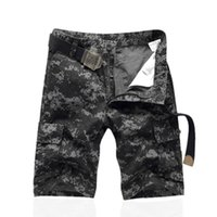 Wholesale Tactical Training Uniforms - Tactical cargo pants with knee pads camo military uniform clothing combat trousers suit camouflage training us army military free shipping