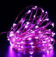 Wholesale String Light Wire - 2M 20 LED Copper Wire String Fairy Light AA Battery Holiday Party Wedding Christmas Home Decoration Lamp