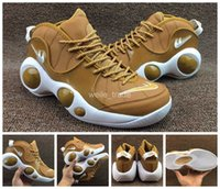 2017 New Air Zoom Flight 95 SE Chaussures de basket-ball pour hommes Wheat Red Big Eyes Bottes de sport Men Basket Ball Chaussures Retro Sneakers 7-11