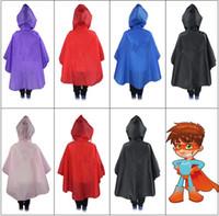 Wholesale Gear Rain Coat - Kids Super Hero Capes Rain Coats Superhero cosplay capes Halloween cape masks for 4-6T Kids children's Rain Gear