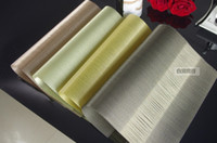 Wholesale Silks Placemats - Processing customized PVC placemats three reel off raw silk from cocoons table MATS Starbucks cup mat Washable quick-drying