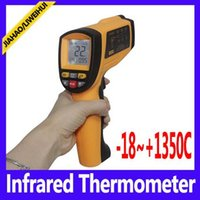 Wholesale Digital Infrared Termometer - infrared industrial thermometer digital termometer GM1350 Range -18~1350C