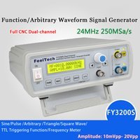 Wholesale Dds Generators - High Precision Digital DDS Function Signal Source Generator Arbitrary Waveform Pulse Frequency Meter 12Bits 24MHz Dual-channel