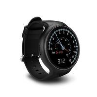 relógio 2gb venda por atacado-I4 Pro Relógio Inteligente Android 5.1 GPS WIFI SIM Bluetooth 2 GB + 16 GB Tela AMOLED MTK6580 Smartwatch Suporte Android iOS Relógios 120 pc