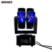 8x10 Watt RGBW 4in1 Moving Head Lichtstrahl für Bühne DJ Party Hochzeit Bar Led-lampe Bühneneffekt Lichter doppel rad strahl moving head