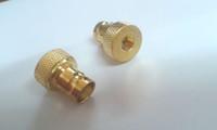 Wholesale Bnc Male Jack - 30pcs brass BNC female jack to sma male plug RF coax connector