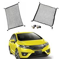 voitures de jazz achat en gros de-1 lot pour Honda Jazz / Fit voiture à hayon SUV coffre arrière stockage de la cargaison bagages en nylon net Diy