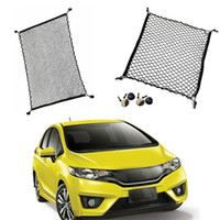 ingrosso honda misura il jazz-1 Set per Honda Jazz / Fit Car Hatchback SUV Posteriore Tronco Bagagli bagagli Bagagli Nylon Net Fai da te