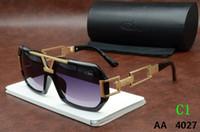Wholesale Lunettes Cat Eyes - Cazals 4027 Sunglasses New Fashion Men Vintage Popular Brand Germany Cazals Eyewears Lunettes De Soleil De Marque Gradient Sun Glasses