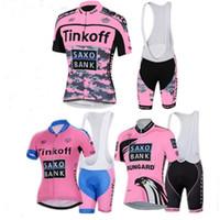 Wholesale Fashion Bike Shorts - 2017 Katusha Tour De France Cycling Jerseys Set Fashion Pro Bike Team Lotto IAM Short Sleeve Summer Bicycle Clothing Can Mix roupa Ciclismo